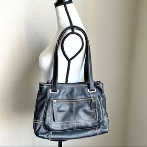 NWOT Clarks Purse Black Leather